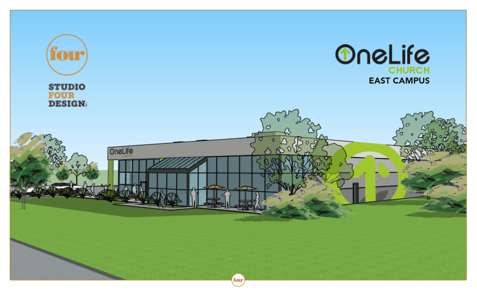 Studio Four Design - OneLife Church Rendering
