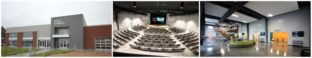 Grace Student Ministry Center - Designed by Studio Four Design - Knoxville Tennessee