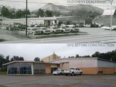 Before and Chevy Dealership Combined 1200 x 900