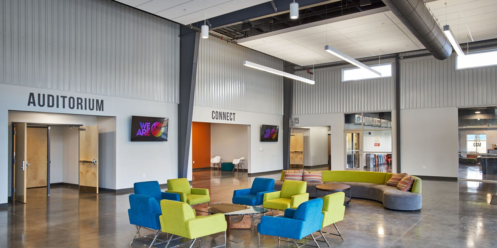 Grace student ministry studio four design for Interior design schools in knoxville tn